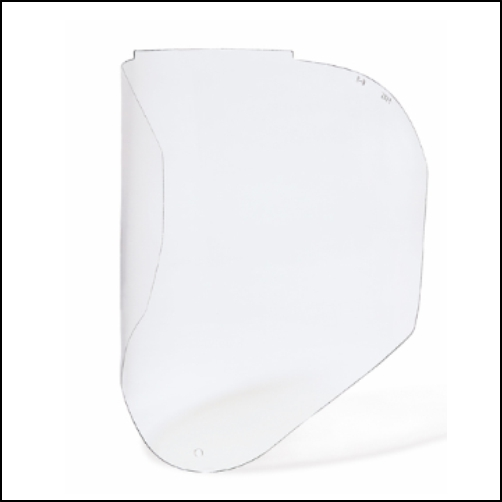 BIONIC VISOR-CLEAR, PC FOG-BAN/ANTI-SCRATCH VISOR