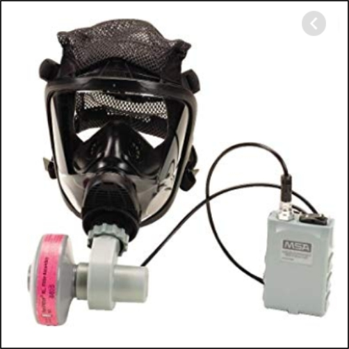 MSA OPTIMAIR® MASK-MOUNTED PAPR