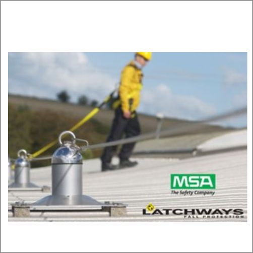 MSA LATCHWAYS® HORIZONTAL LIFELINE SYSTEMS