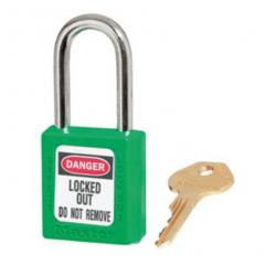 Masterlock Safety Padlock No.410 Green
