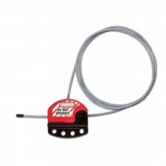 S806-ADJUSTABLE CABLE LOCKOUT WITH 6FT (1,8M) CABLE